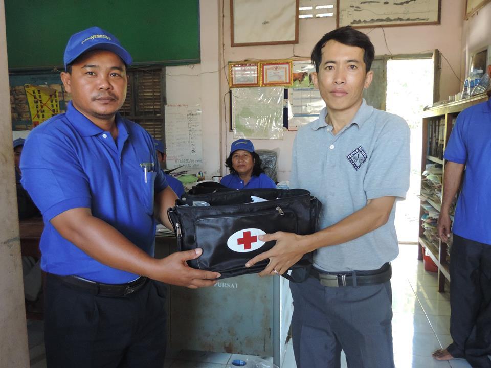 Des auxiliaires vétérinaires au Cambodge Vignette