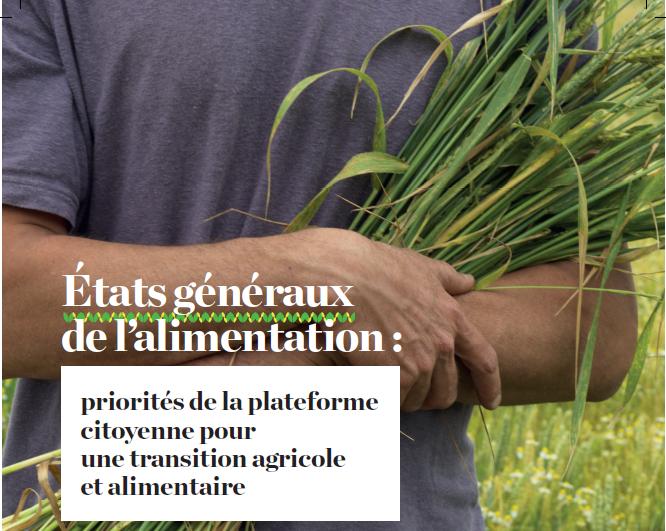 AVSF participe aux Etats généraux de l'alimentation au sein de la «Plateforme citoyenne pour une transition agricole et alimentaire» Image principale