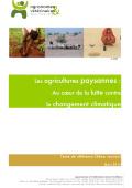 Les agricultures paysannes :  Au cœur de la lutte contre le changement climatique  Vignette