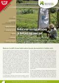 Les expériences innovantes d'AVSF : micro-irrigation à Madagascar Vignette