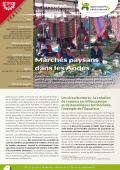 Les expériences innovantes d'AVSF : Des marchés paysans dans les Andes Vignette