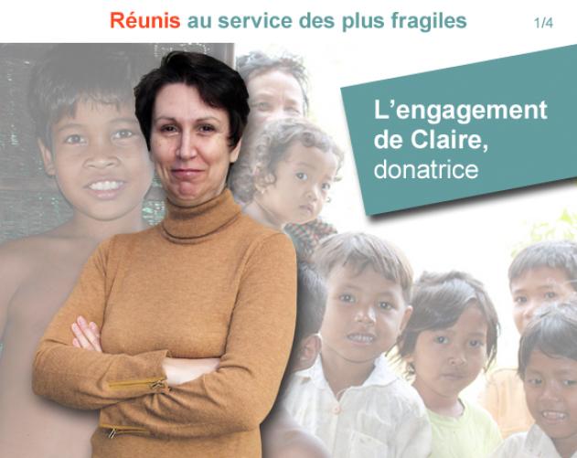 Claire, donatrice depuis 3 ans Vignette