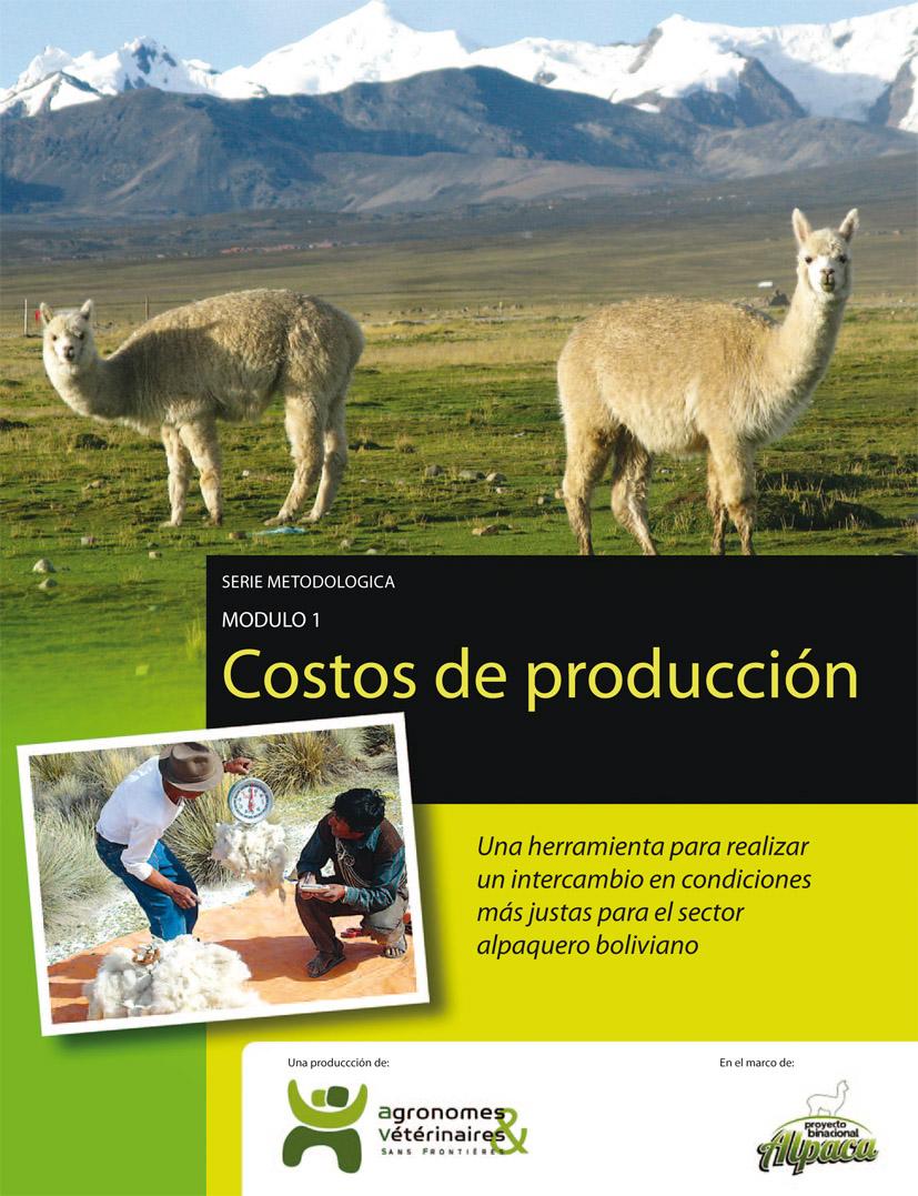 Costos de producción en producción alpaquera: guía metodológica Image principale