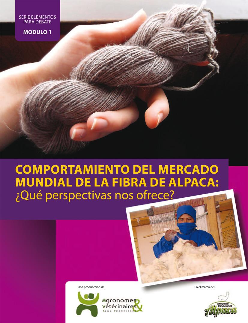 Comportamiento del mercado mundial de la fibra de alpaca: ¿Qué perspectivas nos ofrece? Image principale