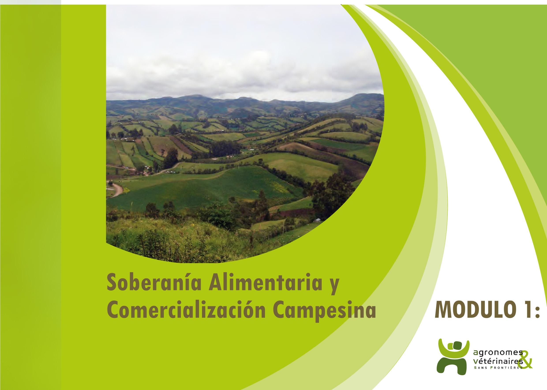 Módulo n°1 de formación de líderes en comercialización campesina: Soberanía Alimentaria y comercialización campesina Image principale