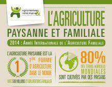 Infographie agriculture paysanne et familiale Vignette