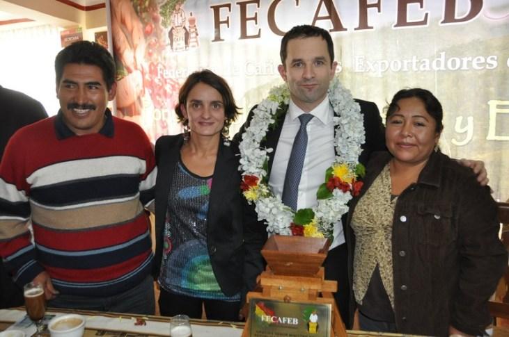 El Ministro francés de la economía social y solidaria y del consumo realiza una gira oficial en Bolivia Image principale