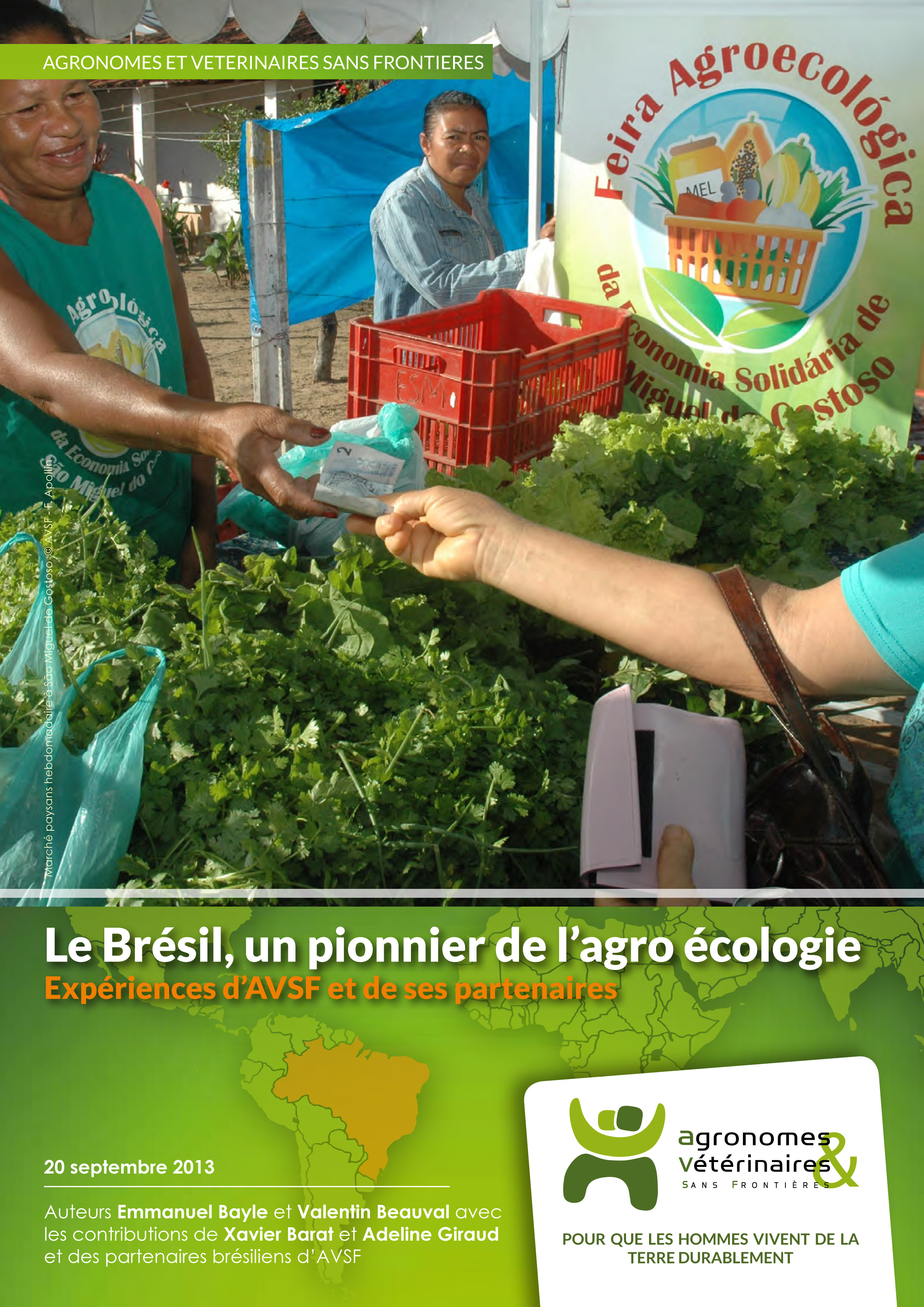 Le Brésil, un pionnier de l'agroécologie : expériences d'AVSF et de ses partenaires Image principale
