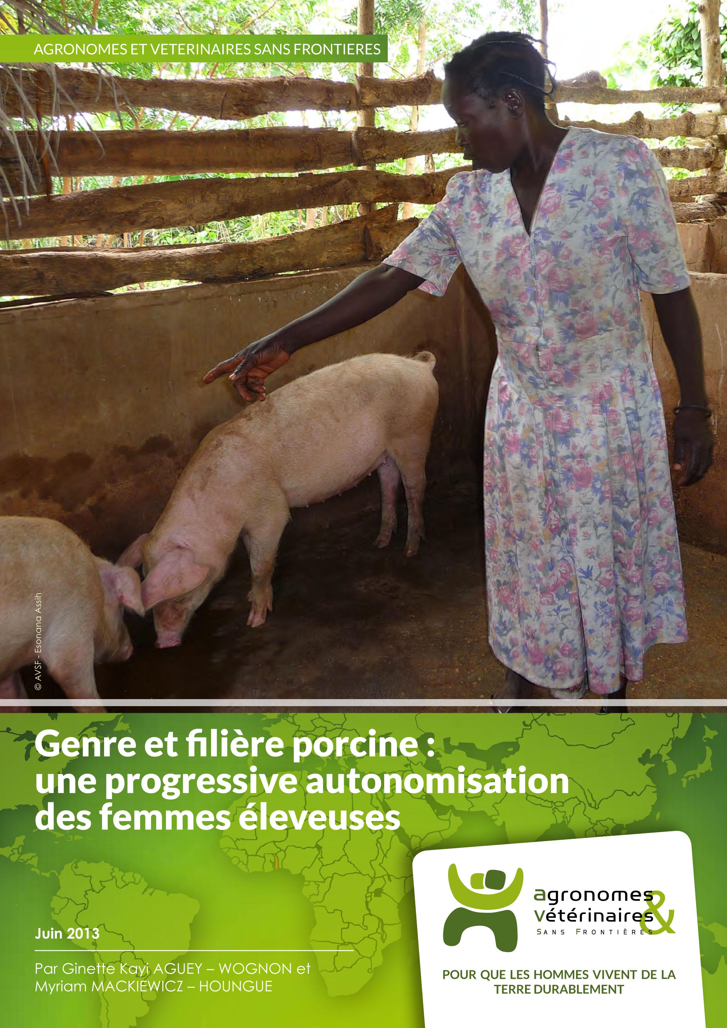 Genre et filière porcine : une progressive autonomisation des femmes éleveuses Image principale