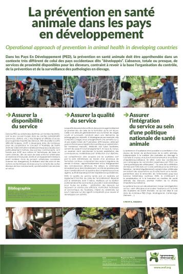 La prévention en santé animale dans les pays en développement Image principale