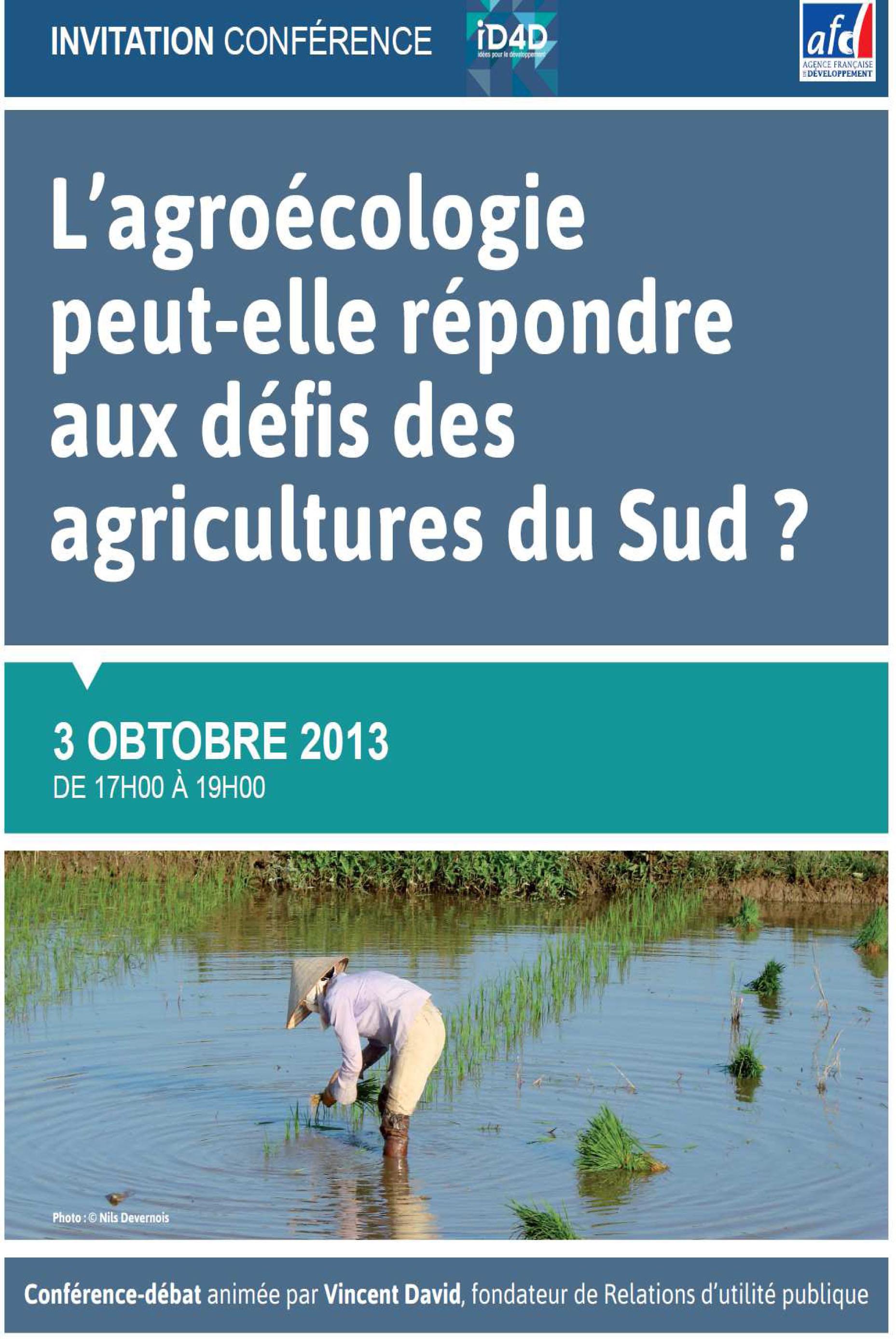 L'agroécologie peut-elle répondre aux défis des agricultures du Sud ?  Image principale