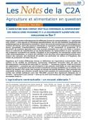 L'agriculture sous contrat peut-elle contribuer au renforcement des agricultures paysannes et à La souveraineté alimentaire des populations du sud ? Vignette