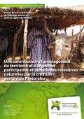 Une contribution à l'aménagement du territoire et à la gestion participative et durable des ressources naturelles par la création des Unités Pastorales Vignette