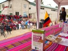 Une première usine locale de quinoa bio et équitable en Equateur ! Vignette