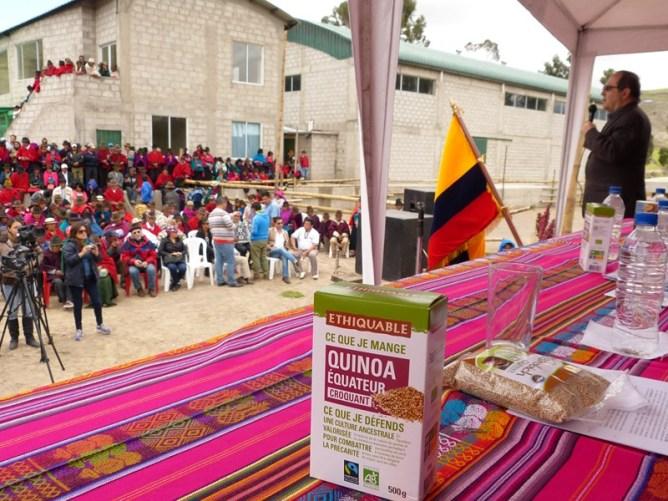 Une première usine locale de quinoa bio et équitable en Equateur ! Image principale