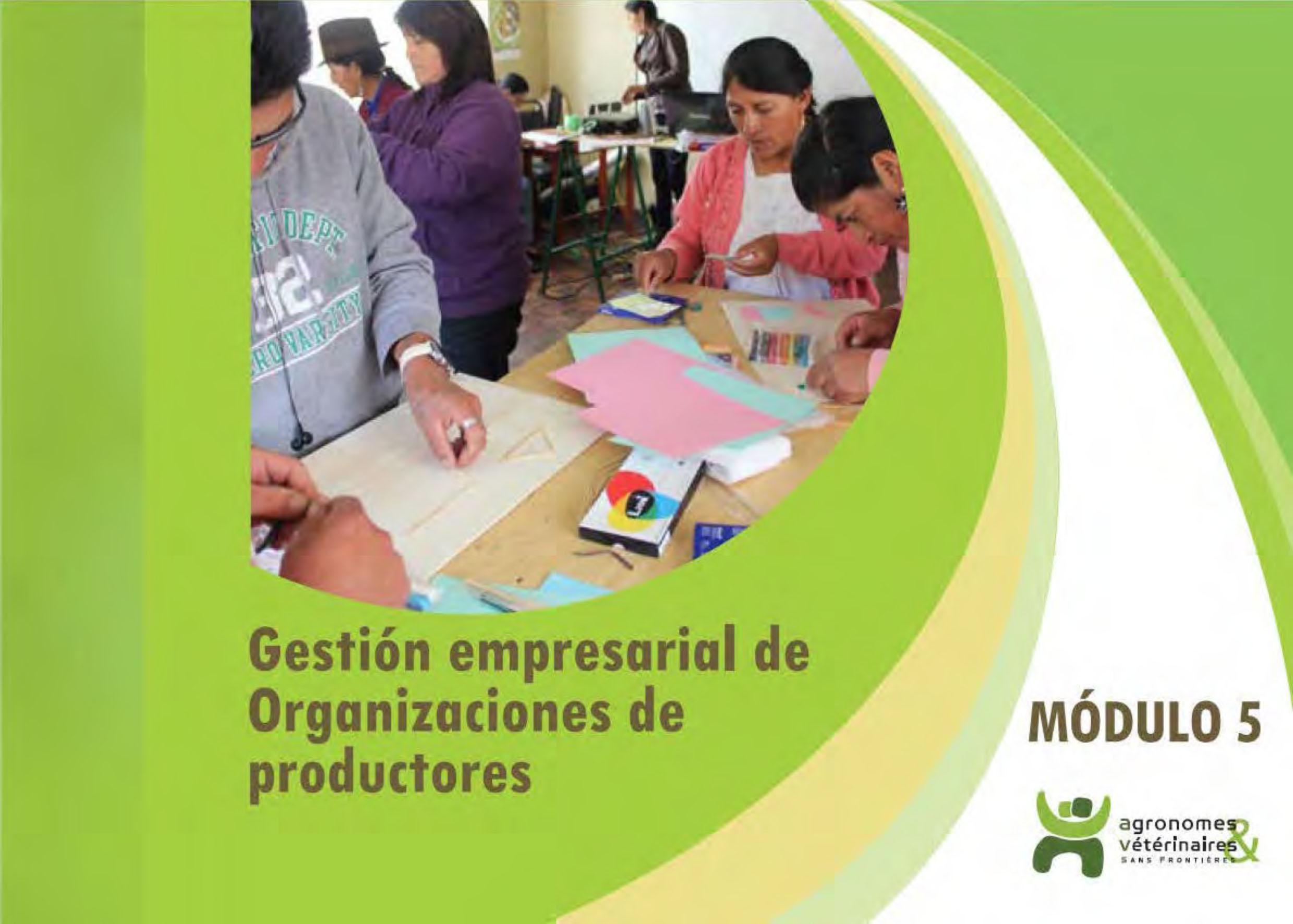 Módulo n°5 de formación para líderes en gestión empresarial de organizaciones de productores Image principale