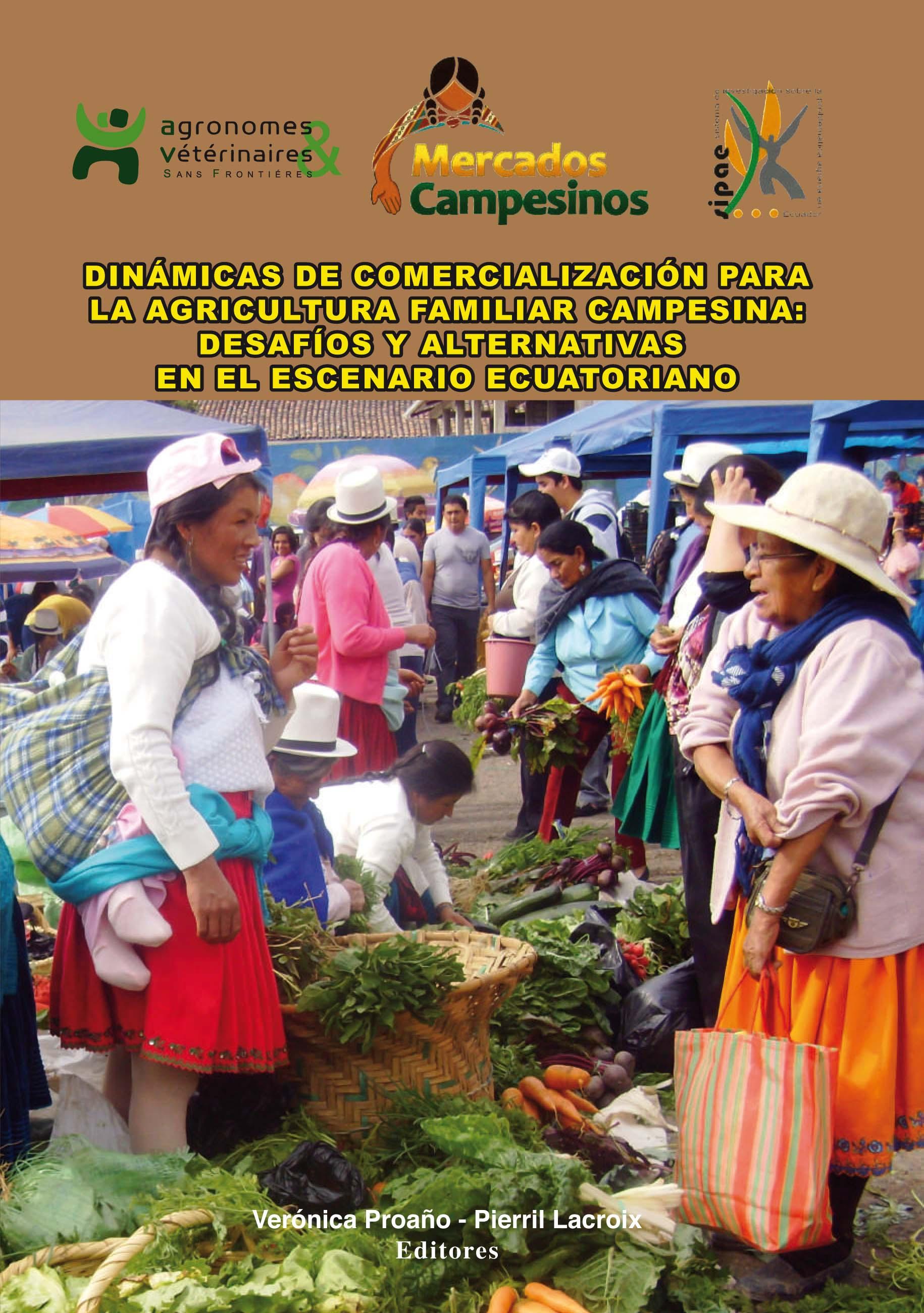 Dinámicas de comercialización para la agricultura familiar campesina: desafíos y alternativas en el escenario ecuatoriano Image principale