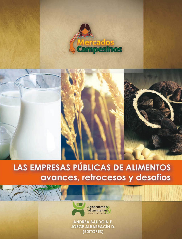 Las empresas públicas de alimentos en Bolivia: avances, retrocesos y desafíos Image principale
