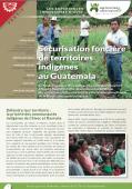Lex expériences innovantes d'AVSF : Sécurisation foncière de territoires indigènes au Guatemala Vignette