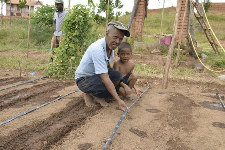 Micro irrigation et adaptation au changement climatique à Madagascar Image principale