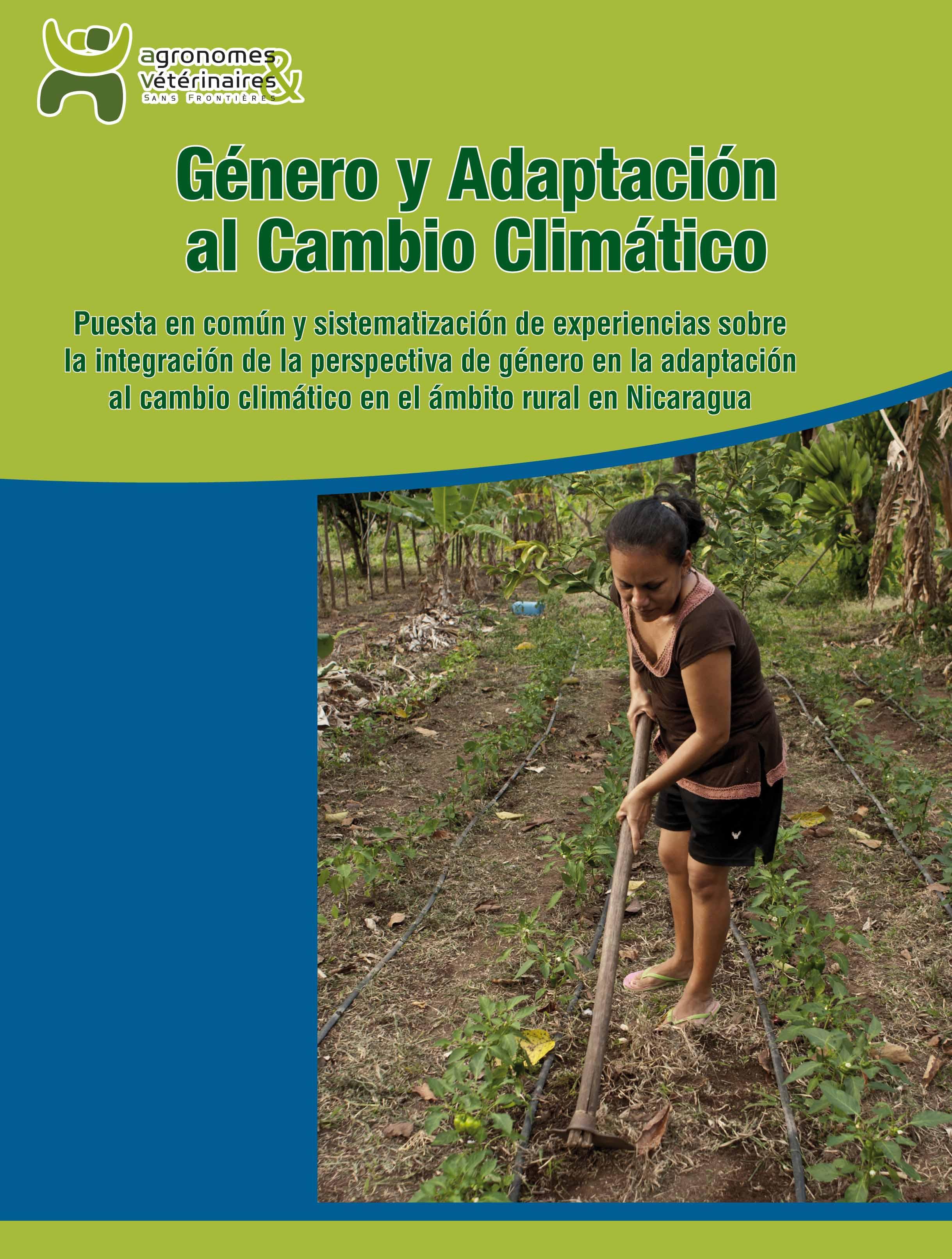 Género y Adaptación al Cambio Climático en Nicaragua Image principale