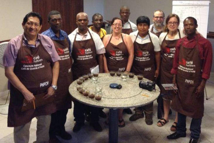 La café des petits producteurs primé en Haïti Image principale
