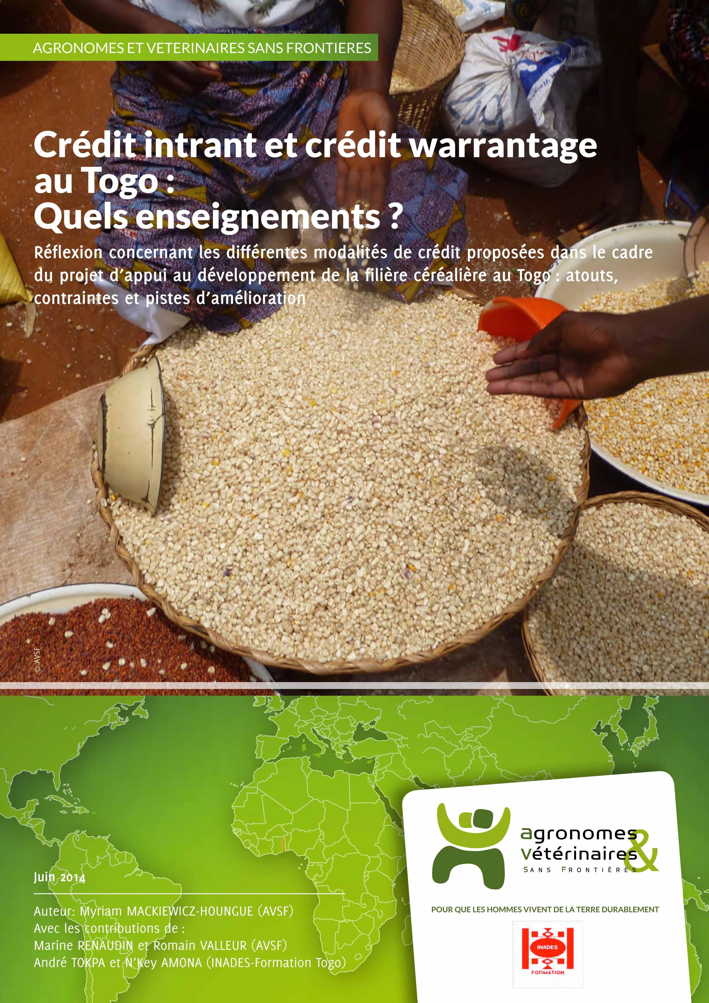 Crédit intrant et crédit warrantage au Togo : quels enseignements ? Image principale