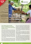 Innovation Experiences of AVSF : Proximity Animal Health Services in Cambodia Vignette