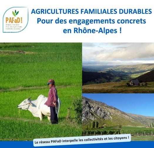 Des agricultures familiales pour des engagements concrets en Rhône-Alpes Image principale