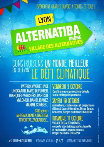 Rejoignez AVSf à Alternatiba Lyon Image principale