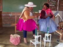 De la fibre de lamas de qualité à Cochabamba en Bolivie Vignette