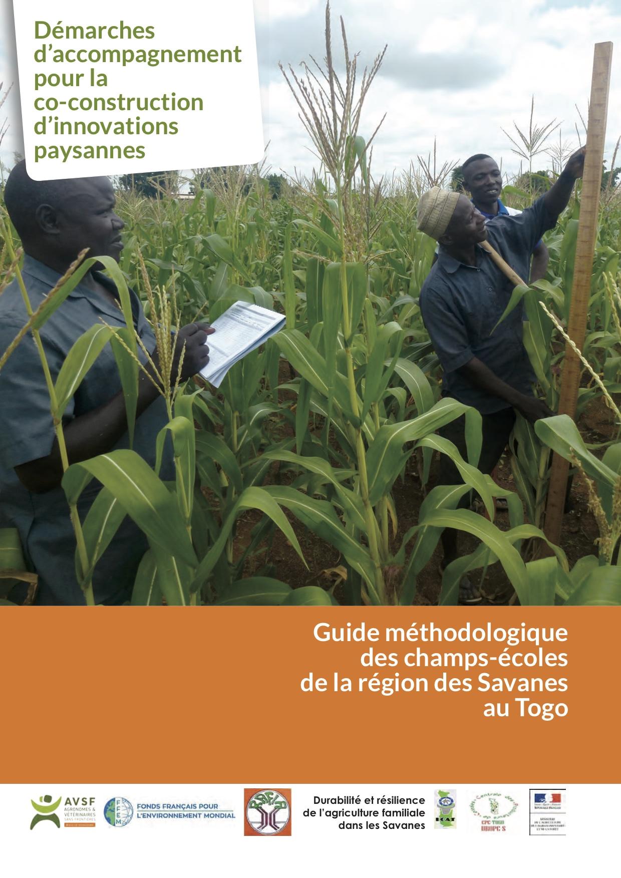 Guide méthodologique des champs-écoles de la région des Savanes au Togo Image principale