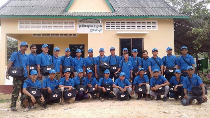Des auxiliaires vétérinaires au Cambodge Image principale