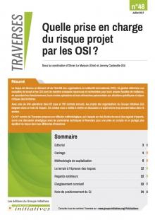 Quelle prise en charge du risque projet par les OSI  ? Vignette