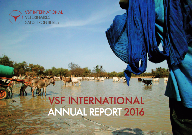 The 2016 annual report iof VSF international Network s now available! Image principale