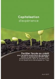 Faciliter l'accès au crédit pour les petits producteurs de céréales à travers un partenariat OP-IMF-ONG : enseignements, défis et perspectives d'une expérience développée au Togo  Vignette