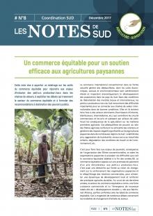 Un commerce équitable pour un soutien efficace aux agricultures paysannes Vignette