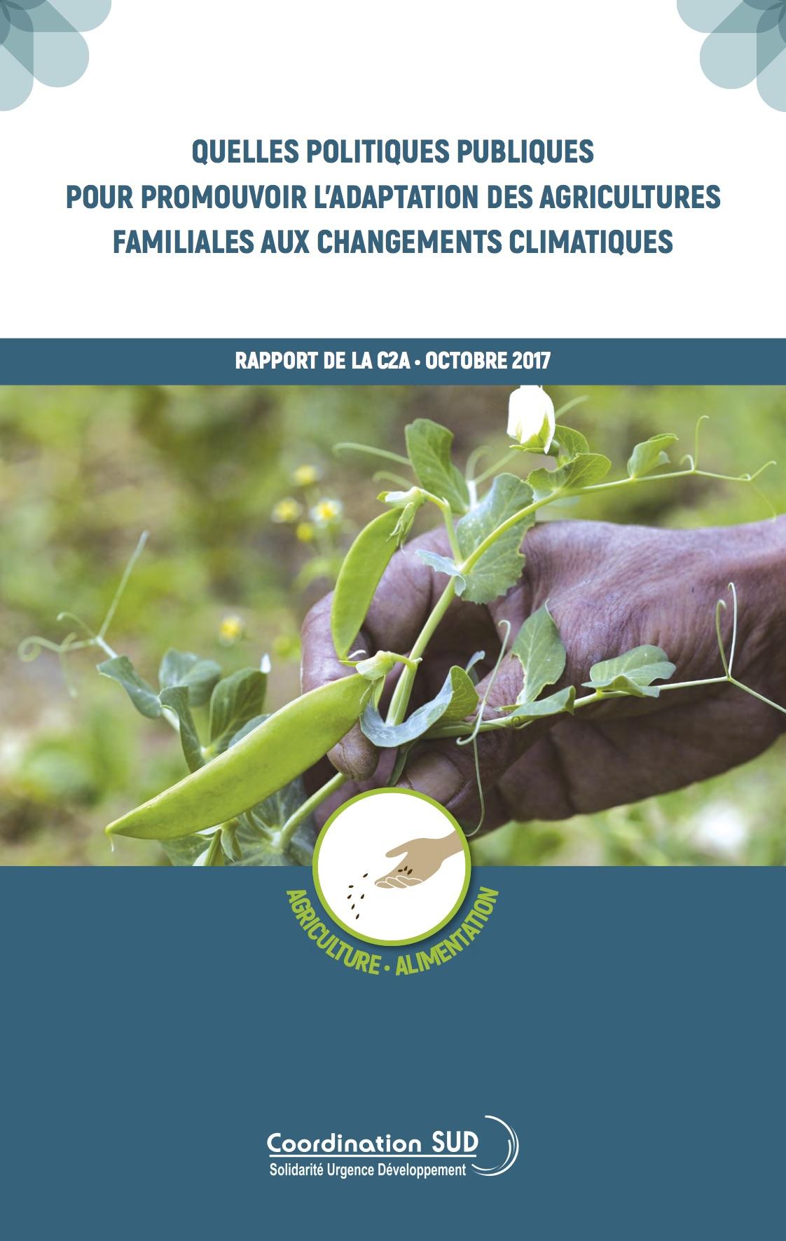 Quelles politiques publiques pour promouvoir l'adapatation des agricultures familiales aux changements climatiques ?   Image principale