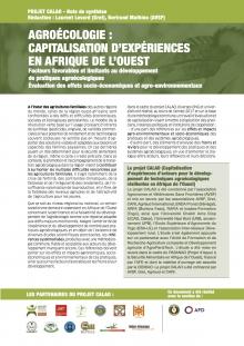 Agroécologie : capitalisation d'expériences en Afrique de l'Ouest : facteurs favorables et limitants au développement de pratiques agroécologiques ; évaluation des effets socio-économiques et agro-environnementaux (note de synthèse) Vignette