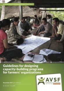 Guidelines for designing capacity-building programs for farmers' organizations Vignette