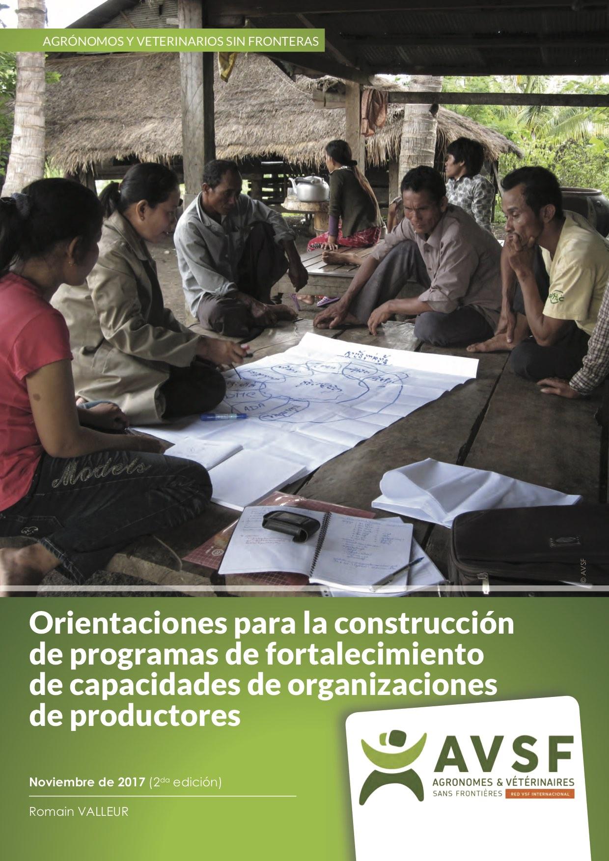 Orientaciones para la construcción de programmes de fortalecimiento de capacidades de organizaciones de productores Image principale