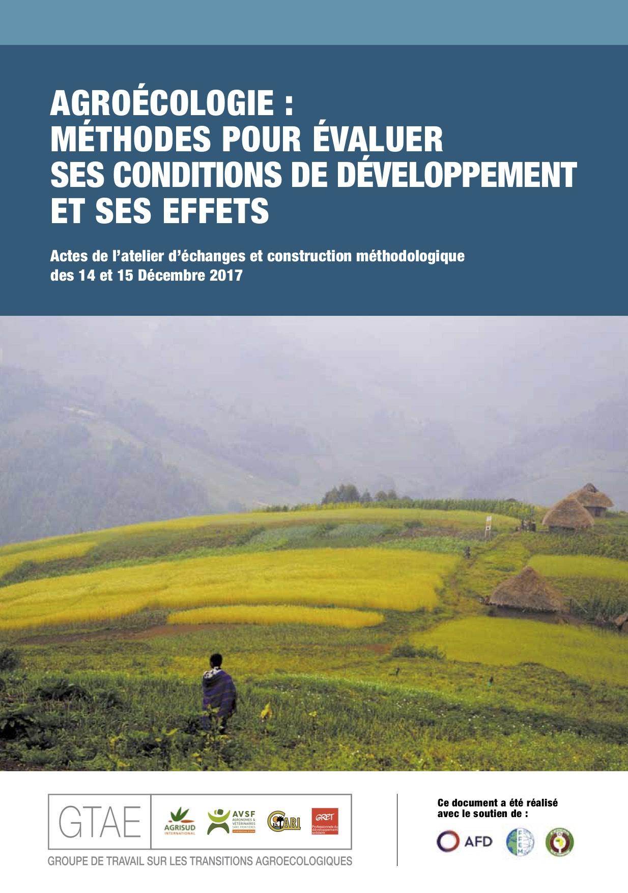 Agroécologie : méthodes pour évaluer ses conditions de développement et ses effets Image principale