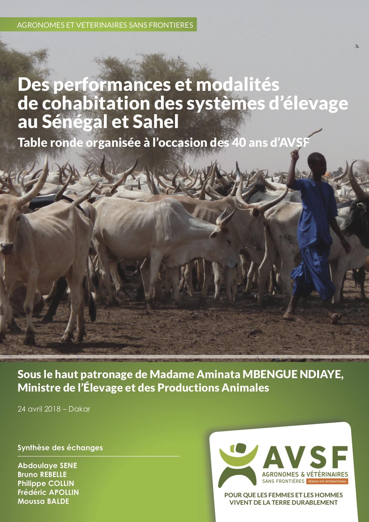 Des performances et modalités de cohabitation des systèmes d'élevage au Sénégal et Sahel Image principale
