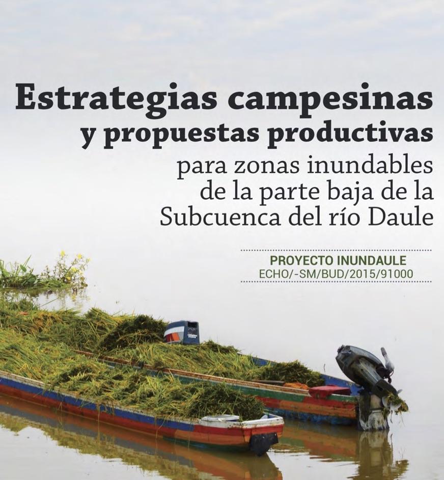 Estrategias campesinas y propuestas productivas para zonas inundables de la parte baja de la Subcuenca del río Daule en Ecuador Image principale