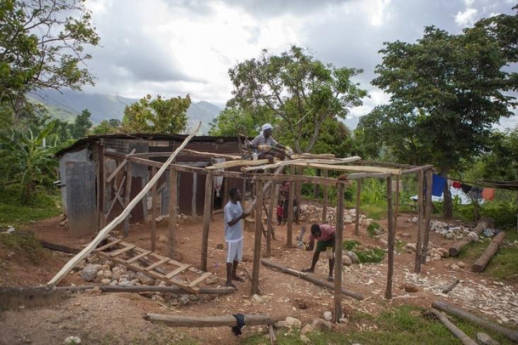 Réhabilitation post-ouragan Matthew en Haïti Image principale