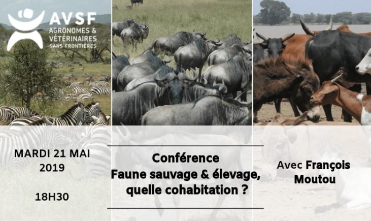 Conférence : Faune sauvage & élevage, quelle cohabitation ? Image principale
