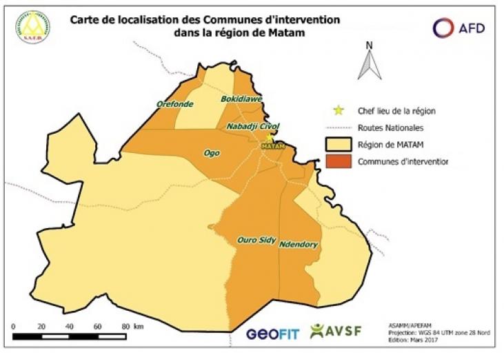 Développement local et gestion concertée des ressources pastorales dans la région de Matam Image principale