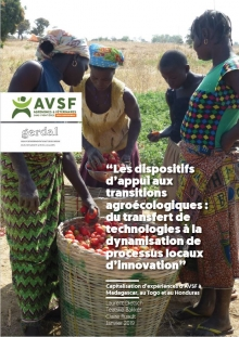 Les dispositifs d'appui aux transitions agroécologiques : du transfert de technologies à la dynamisation de processus locaux d'innovation Vignette