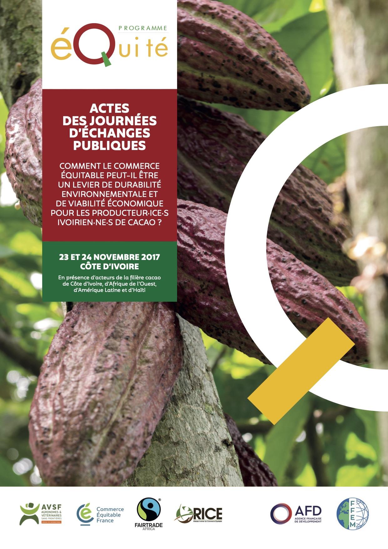 Comment le commerce équitable peut-il être un levier de durabilité environnementale et de viabilité économique pour les producteurs ivoiriens de cacao ? Image principale