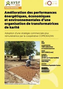 Les actions innovantes : Commerce équitable et production paysanne féminine de karité au Mali  Vignette